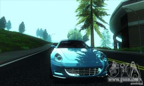 Ferrari 612 Scaglietti für GTA San Andreas Innenansicht
