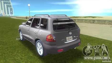 Hyundai Sante Fe pour une vue GTA Vice City de la gauche