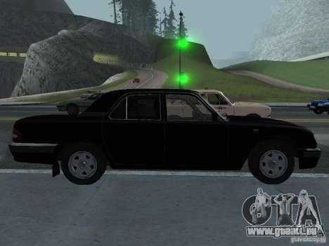 GAZ Volga 31105 pour GTA San Andreas laissé vue