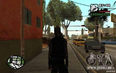 Blackwatch de Prototype pour GTA San Andreas deuxième écran