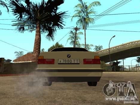 BMW 520i für GTA San Andreas zurück linke Ansicht