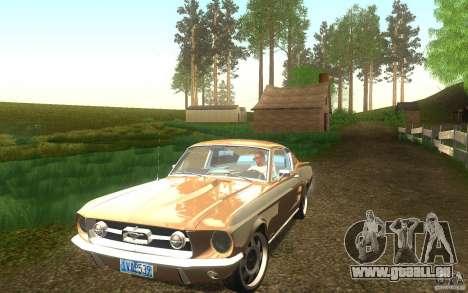 Ford Mustang 1967 American tuning pour GTA San Andreas vue de côté