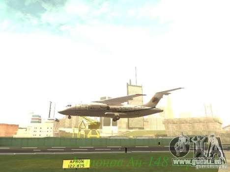 Antonow an-148 Aerosvit Ukrainian Airlines für GTA San Andreas Seitenansicht