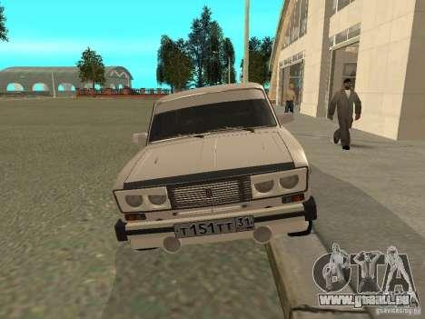 VAZ 2106 West Style pour GTA San Andreas laissé vue