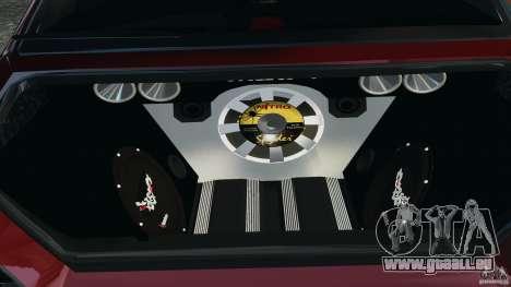 Mitsubishi Lancer Evolution 8 pour GTA 4 Vue arrière