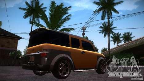 Honda Element LX pour GTA San Andreas vue de droite