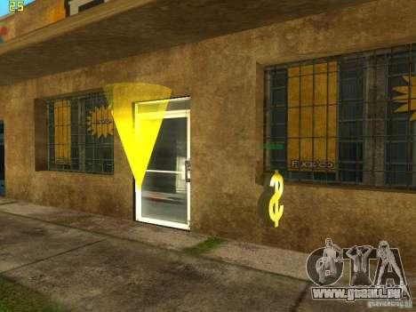 Affaires Cj v2.0 pour GTA San Andreas troisième écran