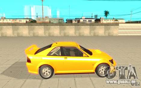 Sultan RS de GTA 4 pour GTA San Andreas laissé vue