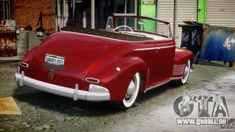 Chevrolet Special DeLuxe 1941 pour GTA 4 est un côté