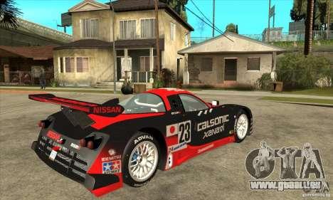 Nissan R390 GT1 1998 v1.0.0 pour GTA San Andreas vue arrière