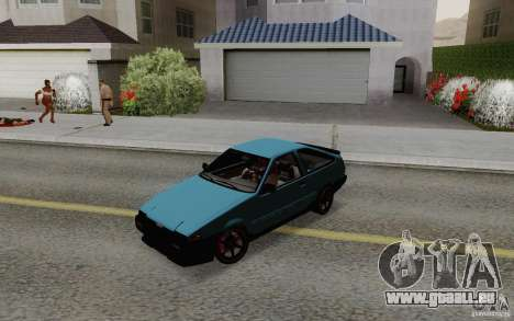Toyota Corolla AE86 pour GTA San Andreas vue de droite