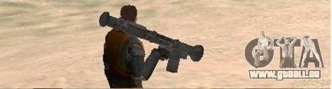 Half-Life weapon pack für GTA San Andreas dritten Screenshot