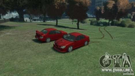 Subaru Impreza WRX STI pour GTA 4