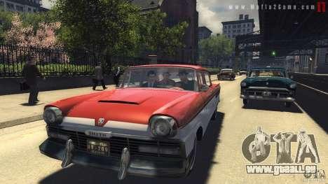 Images de démarrage dans le style d'une Mafia II pour GTA San Andreas quatrième écran