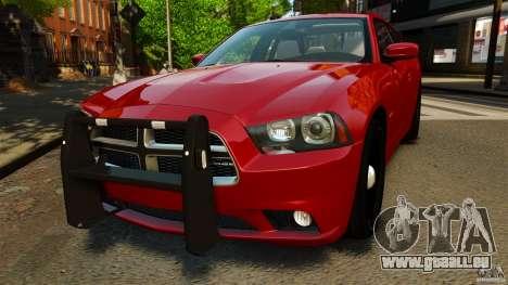 Dodge Charger RT Max FBI 2011 [ELS] für GTA 4