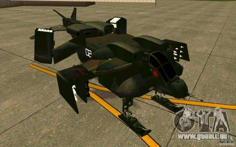 Aliens vs. Predator Marine Drobship pour GTA San Andreas laissé vue