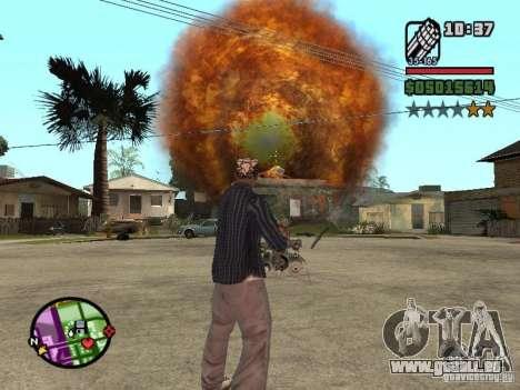 Overdose effects V1.3 für GTA San Andreas