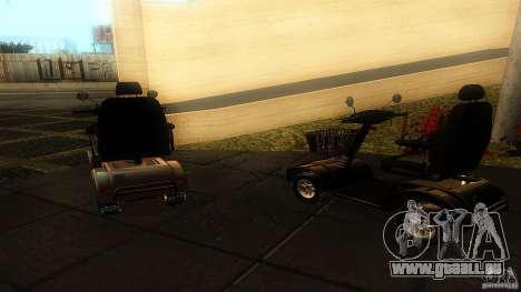 Elektroscooter - Speedy für GTA San Andreas zurück linke Ansicht