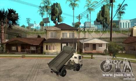 5551 MAZ LKW für GTA San Andreas rechten Ansicht