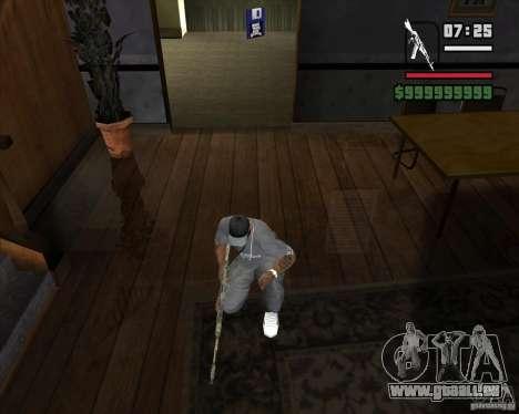 Kalash de METRO 2033 pour GTA San Andreas deuxième écran