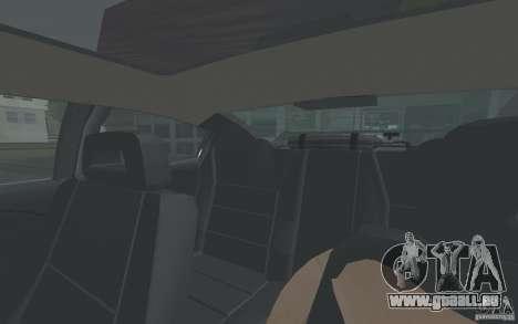 Saturn Ion Quad Coupe für GTA San Andreas Unteransicht