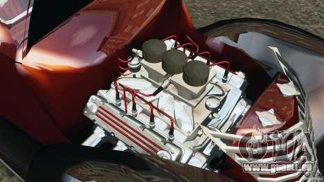 Walter Street Rod Custom Coupe pour GTA 4 est une vue de l'intérieur
