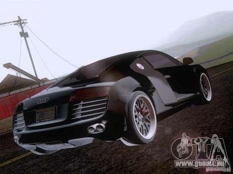 Audi R8 Hamann für GTA San Andreas Räder