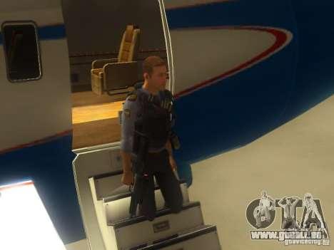 OTS-101 Adder pour GTA San Andreas cinquième écran
