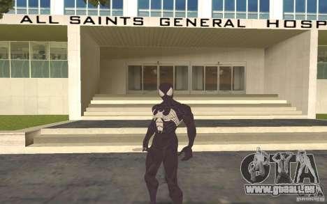 Skins from Spider-Man pour GTA San Andreas deuxième écran