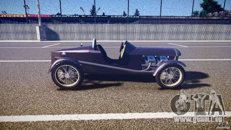 Vintage race car pour GTA 4 est une vue de l'intérieur