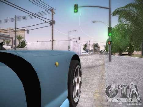 TVR Cerbera Speed 12 für GTA San Andreas Rückansicht