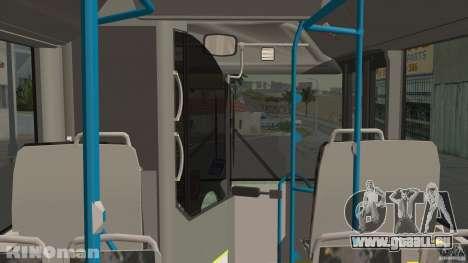 MAN Lion City pour GTA San Andreas vue de droite