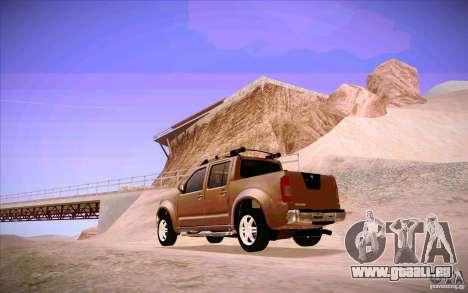 Nissan Fronter pour GTA San Andreas vue de droite