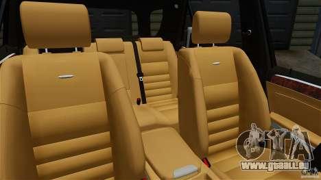 Mercedes-Benz ML63 AMG für GTA 4 Innenansicht