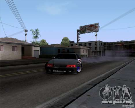 Toyota Chaser jzx100 Drift Police pour GTA San Andreas vue de droite