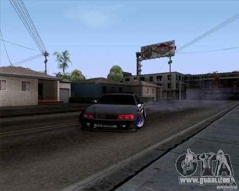 Toyota Chaser jzx100 Drift Police für GTA San Andreas rechten Ansicht
