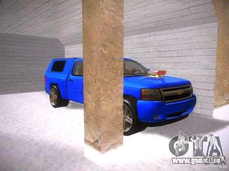 Chevrolet Silverado für GTA San Andreas Innenansicht