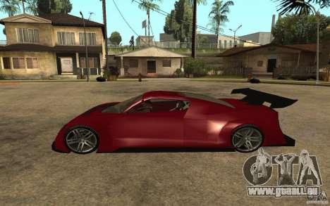 Seat Cupra GT pour GTA San Andreas laissé vue