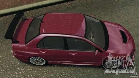 Mitsubishi Lancer Evolution 8 pour GTA 4 est un droit