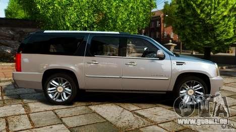 Cadillac Escalade ESV 2012 für GTA 4 linke Ansicht