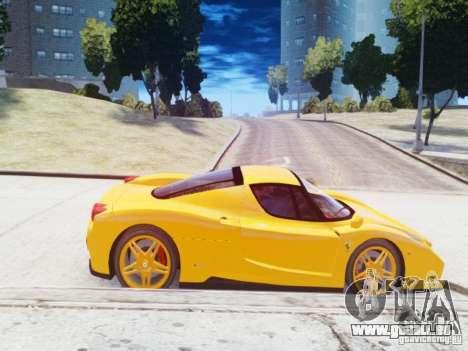 Ferrari Enzo 2002 pour GTA 4 est une gauche
