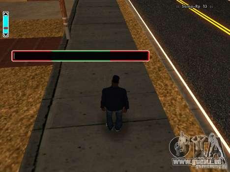 Eine neue Schnittstelle für SAMP für GTA San Andreas dritten Screenshot