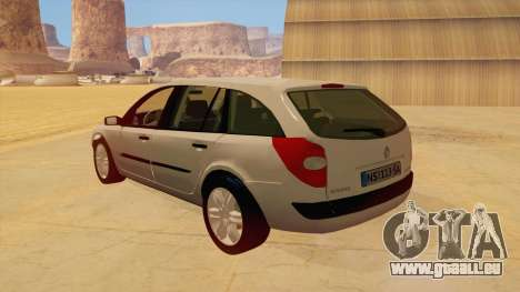 Renault Laguna II für GTA San Andreas rechten Ansicht