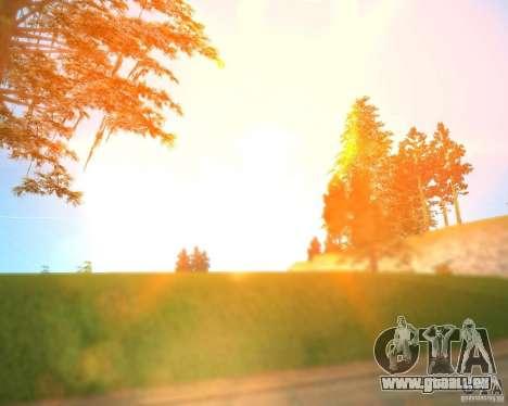 Real World ENBSeries v3.0 pour GTA San Andreas deuxième écran