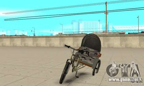 Manual Rickshaw v2 Skin1 für GTA San Andreas
