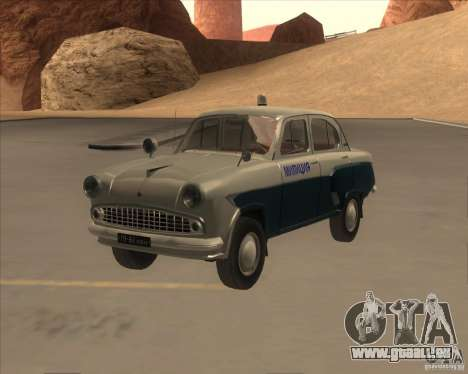 Moskvitch 403 avec Police pour GTA San Andreas