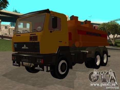 Super MAZ MAZ, 5551 pour GTA San Andreas vue de droite