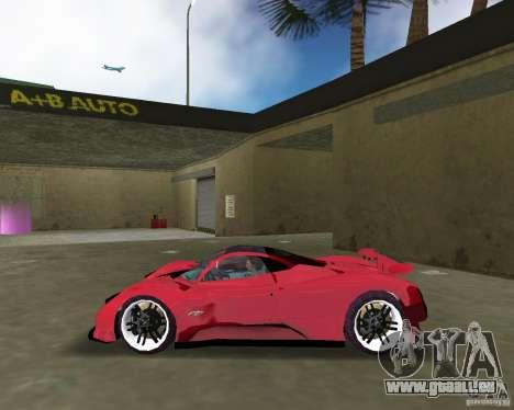 Pagani Zonda S für GTA Vice City linke Ansicht