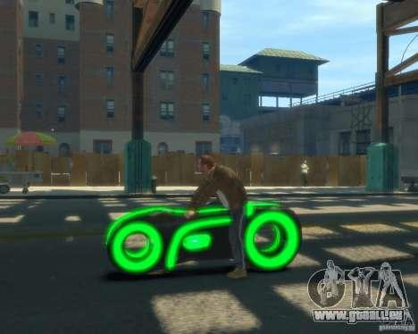 Moto du trône (vert fluo) pour GTA 4 est une gauche