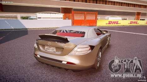 Mercedes Benz SLR McLaren 722s 2005 [EPM] pour GTA 4 est une vue de dessous